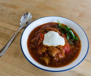 Polish Pork Goulash Slow Cooker Recipe