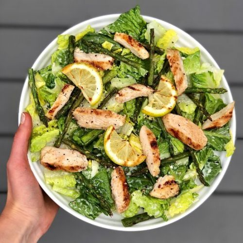 Grilled Chicken and Asparagus Salad