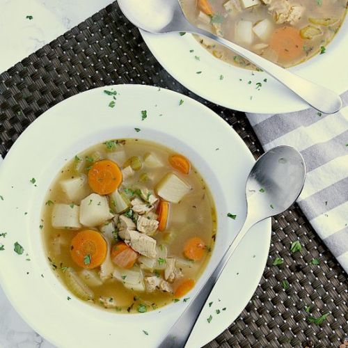 Keto Turkey Soup