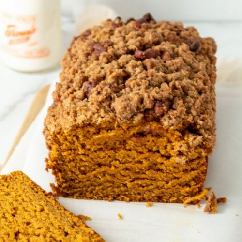 Pumpkin Bread with Maple Streusel