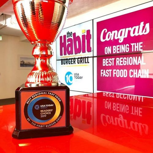 The Habit Burger Grill Named Best Regional Fast Food in USA Today's 2019 10Best Readers' Choice Awards
