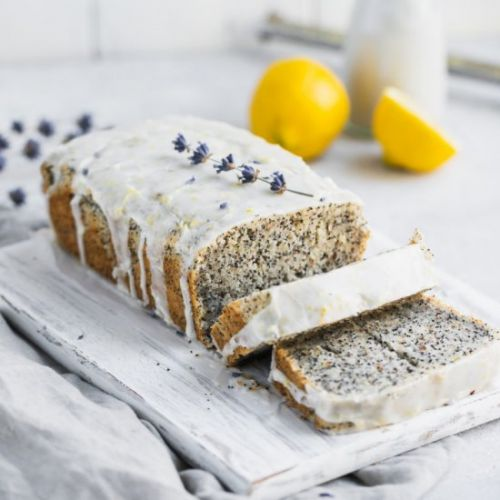 Gluten-Free Lemon Poppyseed Loaf