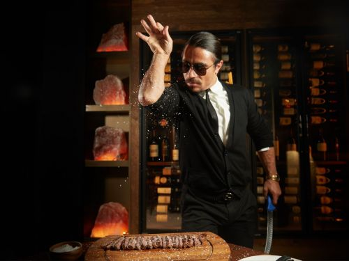 Salt Bae Sprinkles Some Tip Pooling and Wage Theft in Miami Restaurant, Lawsuit Alleges