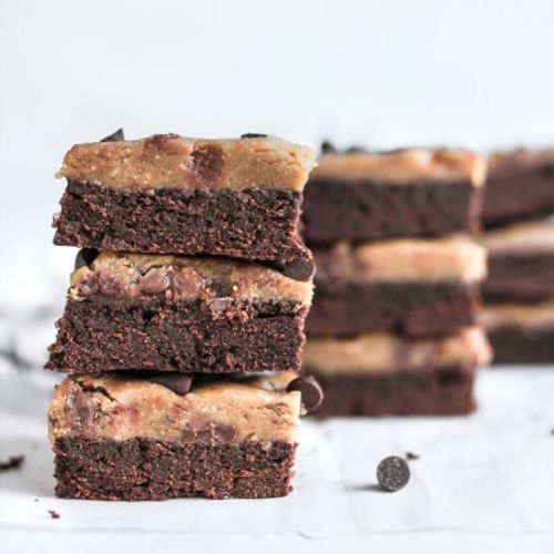 Brownie with PB Cookie Dough