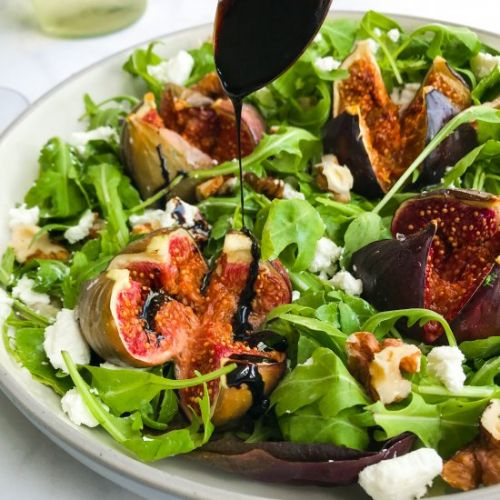HONEY ROASTED FIG SALAD & BALSAMIC