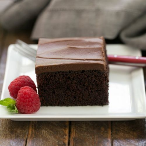 Black Magic Snack Cake
