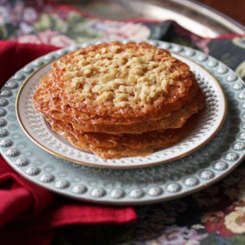 Small Batch Lace Cookies