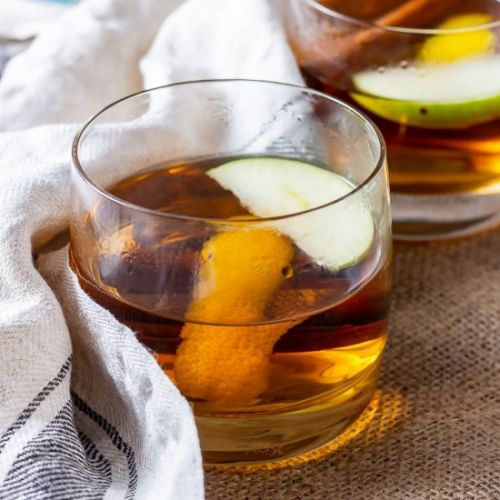 Winter Spiced Apple Cocktail
