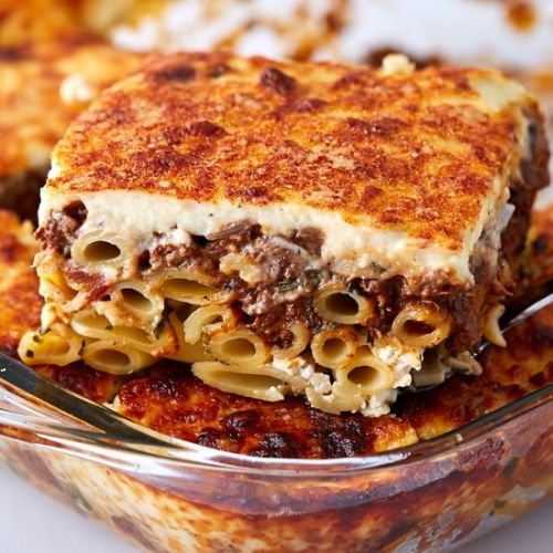 Homemade Pastitsio