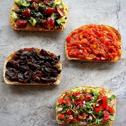 4 Savory Toast Recipes