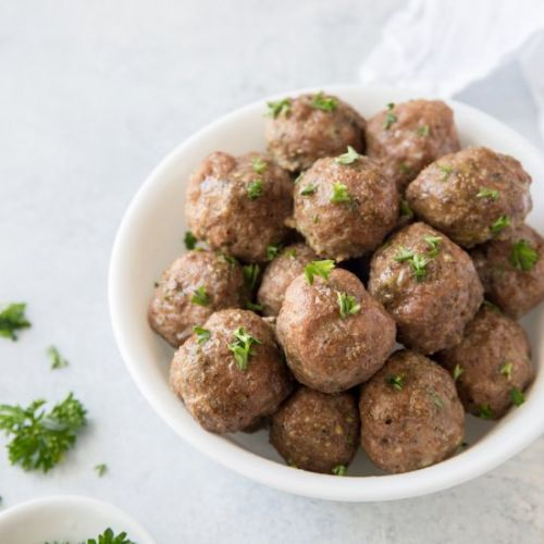 Low Carb Paleo Turkey Meatballs