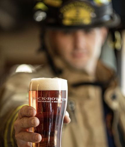 Rock Bottom Sparks Community Support with Return of Fire Chief Ale