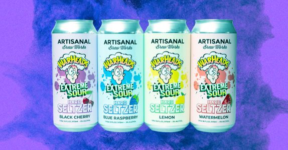 Warheads Sour Candy is Releasing a Hard Seltzer Collab