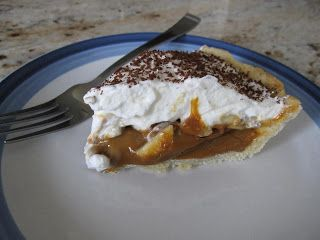 Banoffee Pie with Dulce de Leche