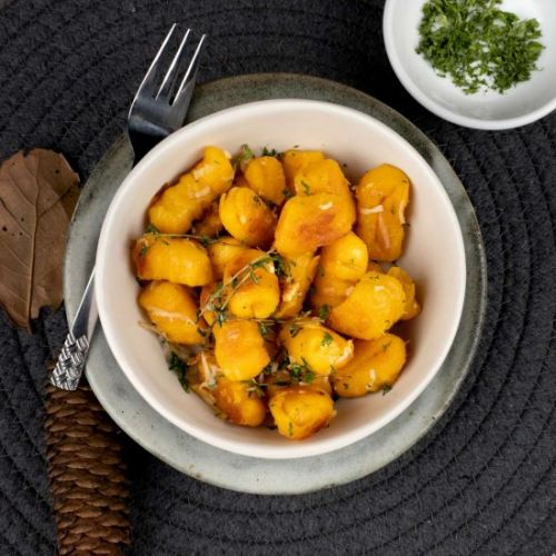 Homemade Sweet Potato Gnocchi