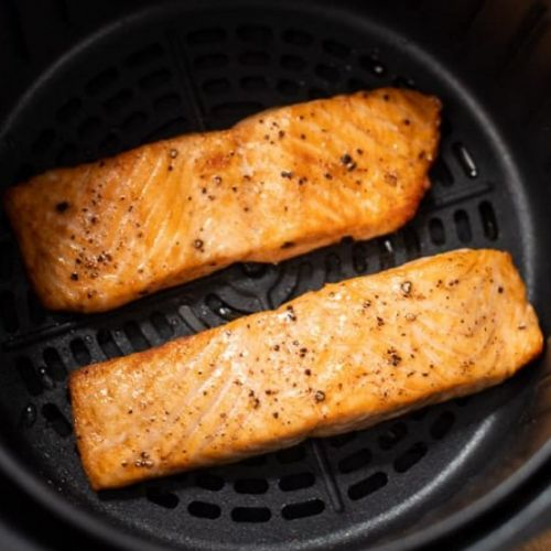 Healthy Air Fryer Salmon