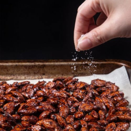 Instant Pot Churro Candied Almonds