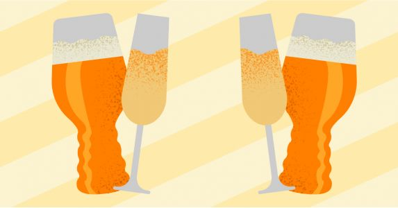 Bubbly, Bone-Dry Brut IPAs Are Suddenly All Anyone Can Talk About