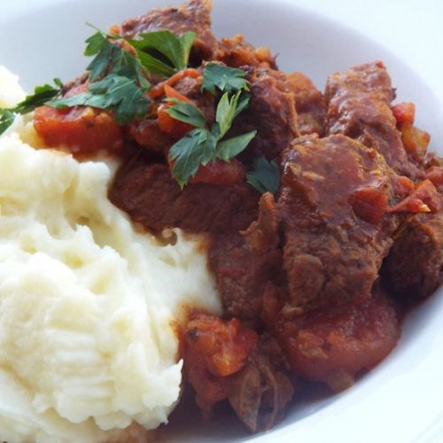 Italian Beef Stew with Rosemary