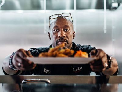 Chef David Thomas Is Not Here to 'Elevate' Soul Food