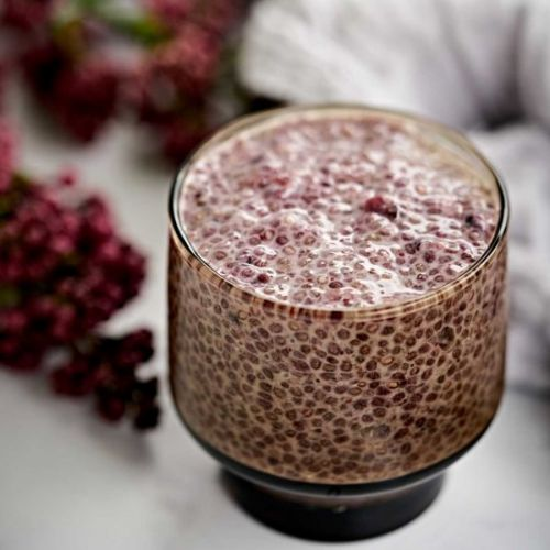 Coconut Milk Chia Pudding