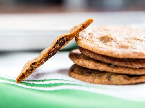 Tate's-Style Thin and Crispy Chocolate Chip Cookies