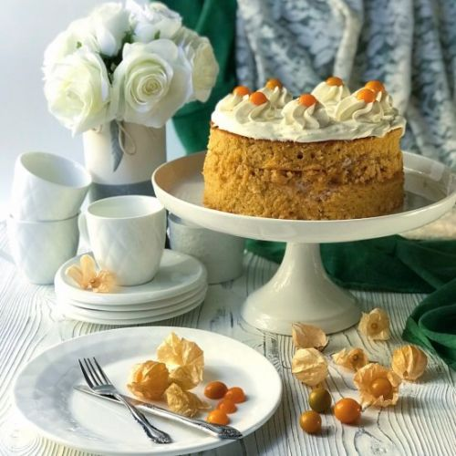 Moist And Tender Carrot Cake