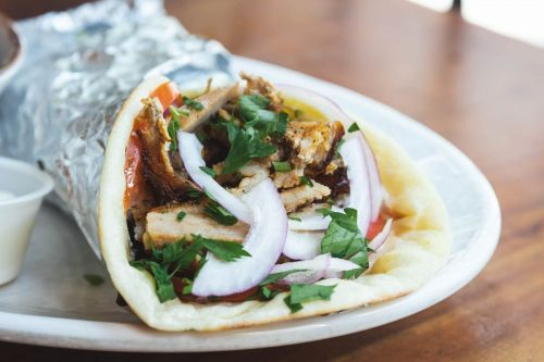 Mediterranean-Inspired Pork Gyros by Yafo Kitchen