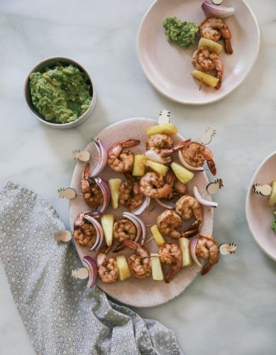 Barbecue Shrimp Pineapple Skewers For Your Next Cookout
