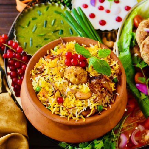 Banarasi Vegetable Biryani
