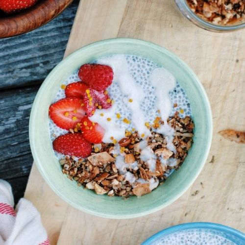 Chia Pudding and Grain Free Granola