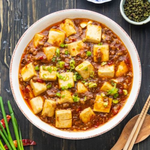 Mapo Tofu with Pork Mince