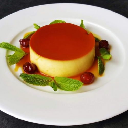 Rich Cream Cheese Caramel Flan