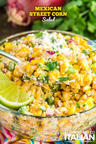 Mexican Street Corn Salad + Video