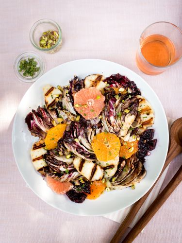 This Salad Is the Next Best Thing to Eating Halloumi Straight from the Grill
