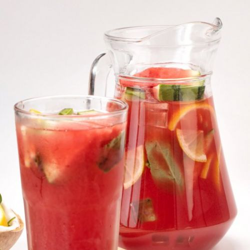 Delicious Watermelon Jungle Juice
