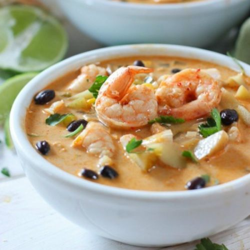 Mexican Shrimp Chowder