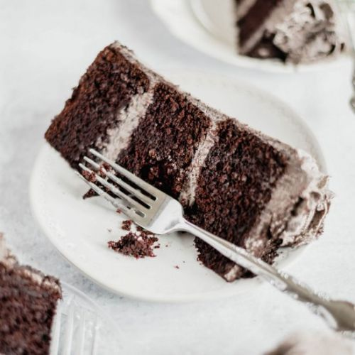Chocolate Cake with Oreo Frosting