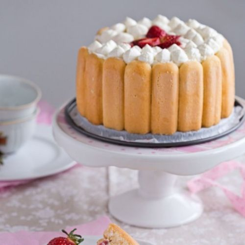 Easy Strawberry Charlotte