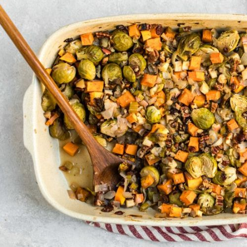 Fall Roasted Vegetable Casserole
