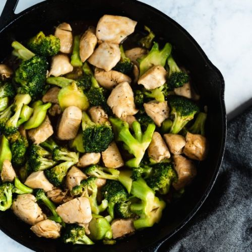 Easy Chicken & Broccoli Stir Fry