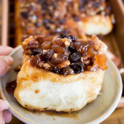 Apple Cider Sticky Buns