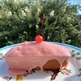 This Glazed Maraschino Cherry Bread Is Beautifully Pink and Totally Delicious