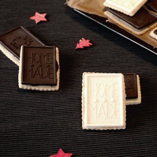 Chocolate butter biscuit