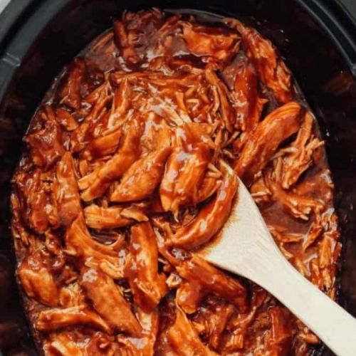 Crockpot BBQ Pulled Chicken!