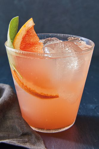 Grapefruit and Sage Gimlet