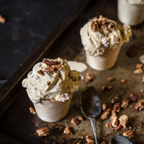 Brown Butter Pecan Ice Cream