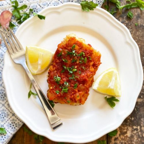 Andalusian Cod with Tomato Sauce
