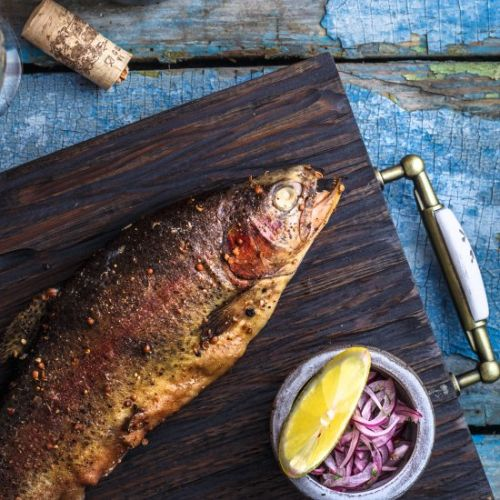 How To Smoke Whole Trout on Traeger