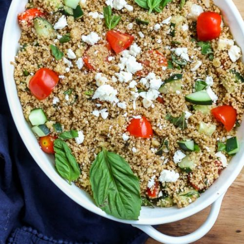 Fresh Herb and Vegetable Couscous